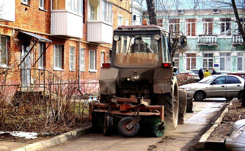 ОАО «Жилищник» приступило к «генеральной уборке» смоленских дворов