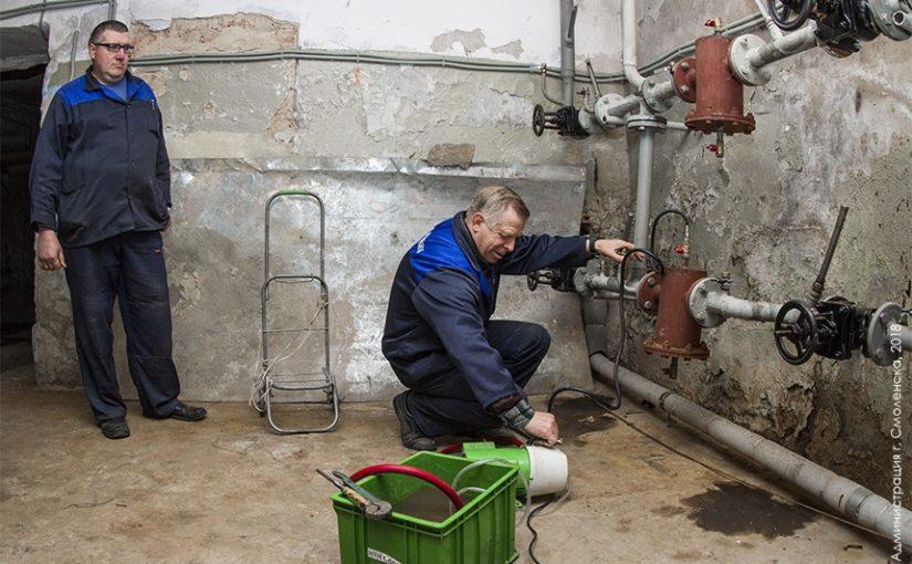 ОАО «Жилищник» приступило к подготовке домов к новому отопительному сезону